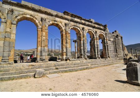Roman Ruins Of Volubillis
