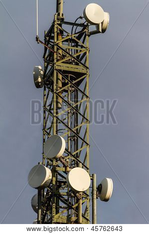 Microwave Tower Detail
