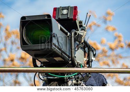 Câmera de TV