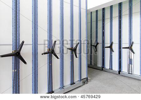 Estantes de alta densidad