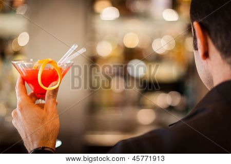 Man And Drink