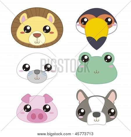 Animals Head