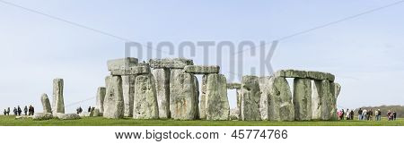 Stonehenge, Inglaterra de Wiltshire pedras de pé