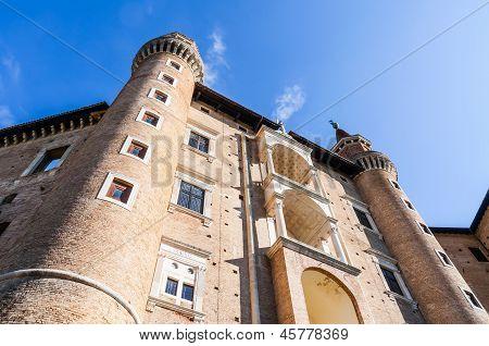 Ducal Palace In Urbino