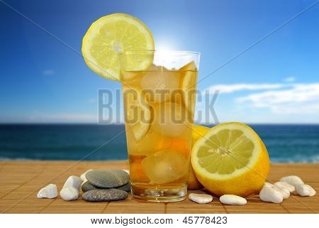Lemonade In The Beach