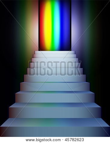 Stairs To The Rainbow