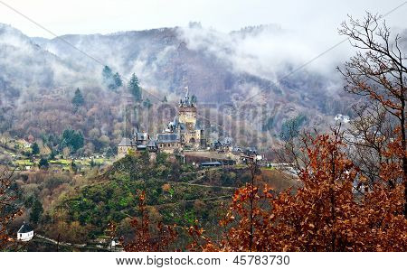 Reichsburg Castle In Cochem, Germany