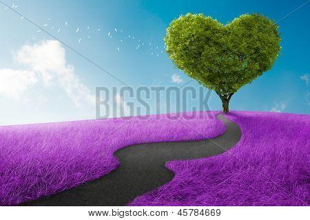 Herz-Baum