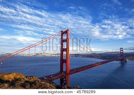 Famoso puente Golden Gate