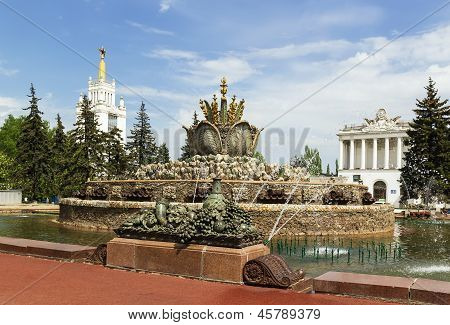 Fountain Stone Flower, Moscow
