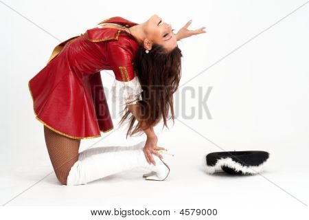 Girl In A Pirate Costume