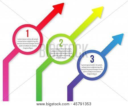 Three Diagonal Arrows
