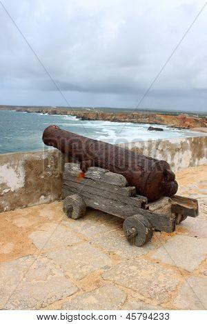 Canon And Rocky Algarve, Portugal Coastline