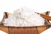 White China Cooked Rice poster