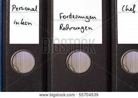 File Folders In Office