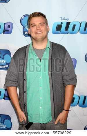 LOS ANGELES - DEC 18:  Andrew Caldwell at the Premiere Of Disney Channel's