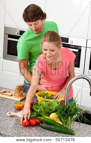 Man Picking Up Her Girlfriend