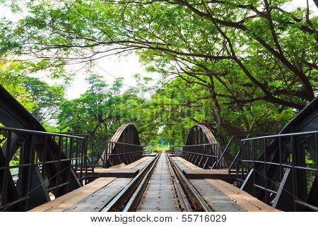 Bridge Across River Kwai, Kanchanaburi, Thailand