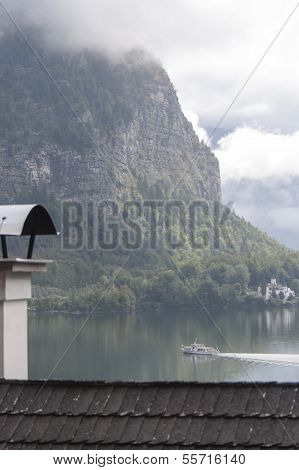 Grub Castle Seen On The Lake Hallstatt