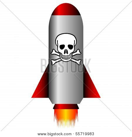 Missile With A Chemical Weapon