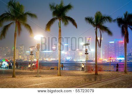 Embankment Of Hong Kong