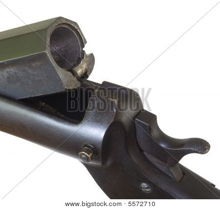 Old Shotgun Breech