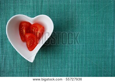 Heart Tomatoes