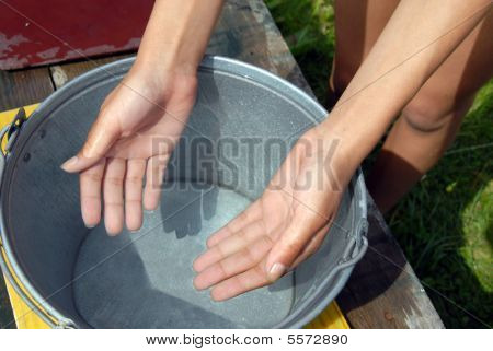 Clean Transparent Water