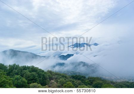 The Foggy Mountains
