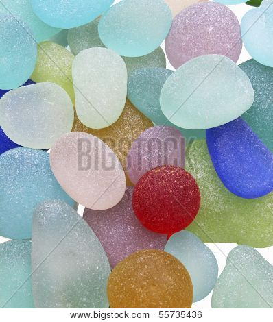 Sea Glass Pebbles
