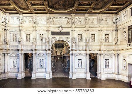 Teatro Olimpico In Vicenca