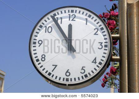 Clock Almost 12 O'clock