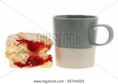 Doughnut With Coffee