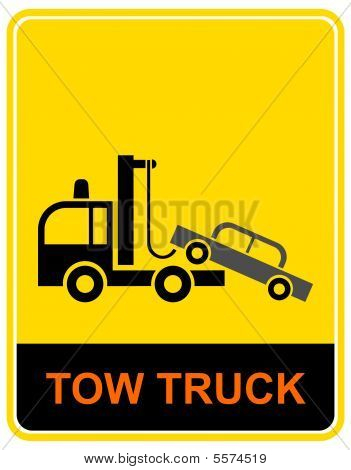 Tow Truck - Sign