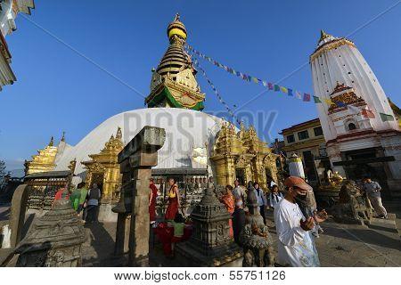 Swayambhunath Buddhist Stupa, Nepal