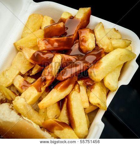 British Chip Butty