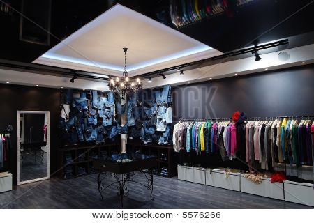modern clothing stores
