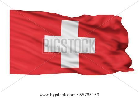 Switzerland Flag.