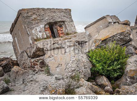 Half-demolished Military Fortifications