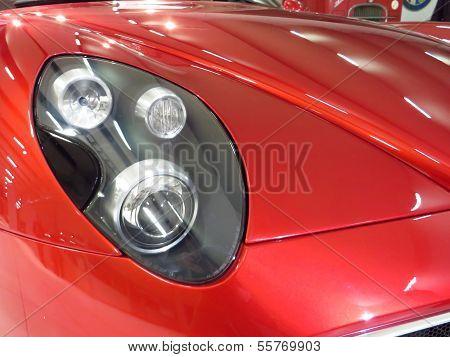 Modern Sporty Car Detail