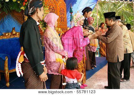 Muslim wedding ceremony