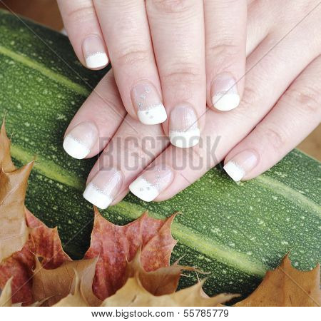 French Manicured Nails
