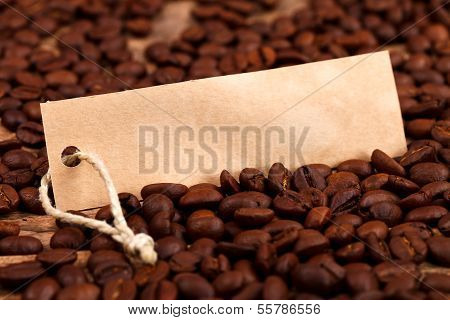 Vignette On Coffee Beans