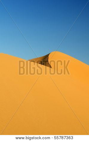 Dünen in der Wüste Sahara, Marokko