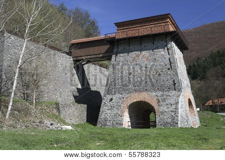 Old Blast-Furnace near Adamov