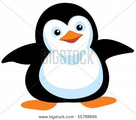 Cartoon-Pinguin