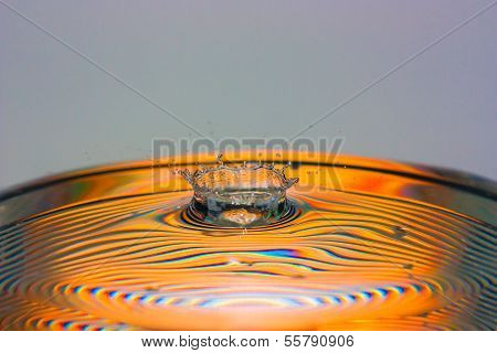 Water Droplets Dispersal
