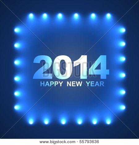 stylish happy new year design background