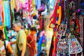 stock photo of flea  - Chatuchak weekend market in Bangkok Thailand - JPG