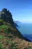 pic of devonshire  - View of the Devonshire Coast UK - JPG
